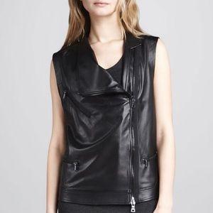 SOLD Robert Rodriguez leather motorcycle vest